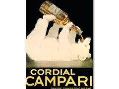 Poster Belle Époque - Campari